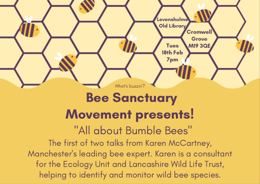 Flyer for a Bee Talk
